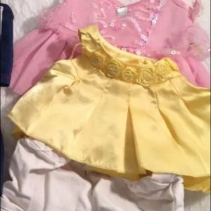 Build A Bear Plush Clothes Lot And Shoes